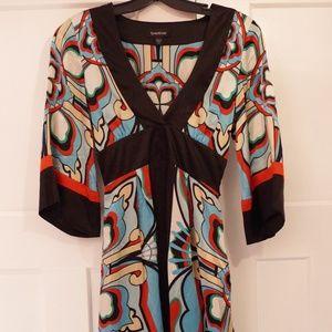 Bebe Silk Tunic- Size XS